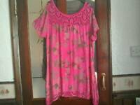Ladies size 14/16 dress top
