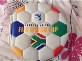 Padded FIFA World Cup book