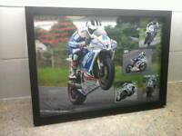 Signed moterbike pic