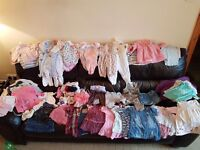 Girl baby clothes bundle 3-6 month £35