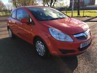 (56) Vauxhall CORSA 1.2 mot -November 2018 , only 73,000 miles ,2 owners ,clio,fiesta,punto