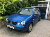 VW Polo 2003, 98k, Spares or Repairs