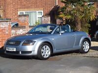 2004 AUDI TT 1.8 Convertible 150 BHP, ---Lady Owner---Immaculate Through Out-- Full Service History