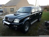 Mitsubishi l200 warrior. Selling due to change of job