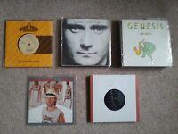 "Genesis & related 7"" singles, VGC,"