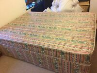 Double Divan bed and matress for sale in Bristol