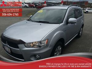 2012 Mitsubishi Outlander XLS S-AWC (6AT)