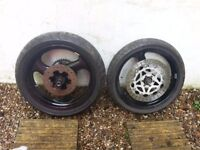 Aprilia RS125 Wheels