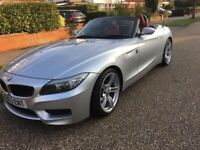 BMW, Z4, E89 20i M Sport 184bhp, Dec 2012, Automatic, red leather interior