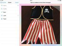 Childs pirate costume