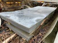 8ft x 3ft8 WATER MARKED / PATENA 1.00mm thick Flat Galvanised Sheet