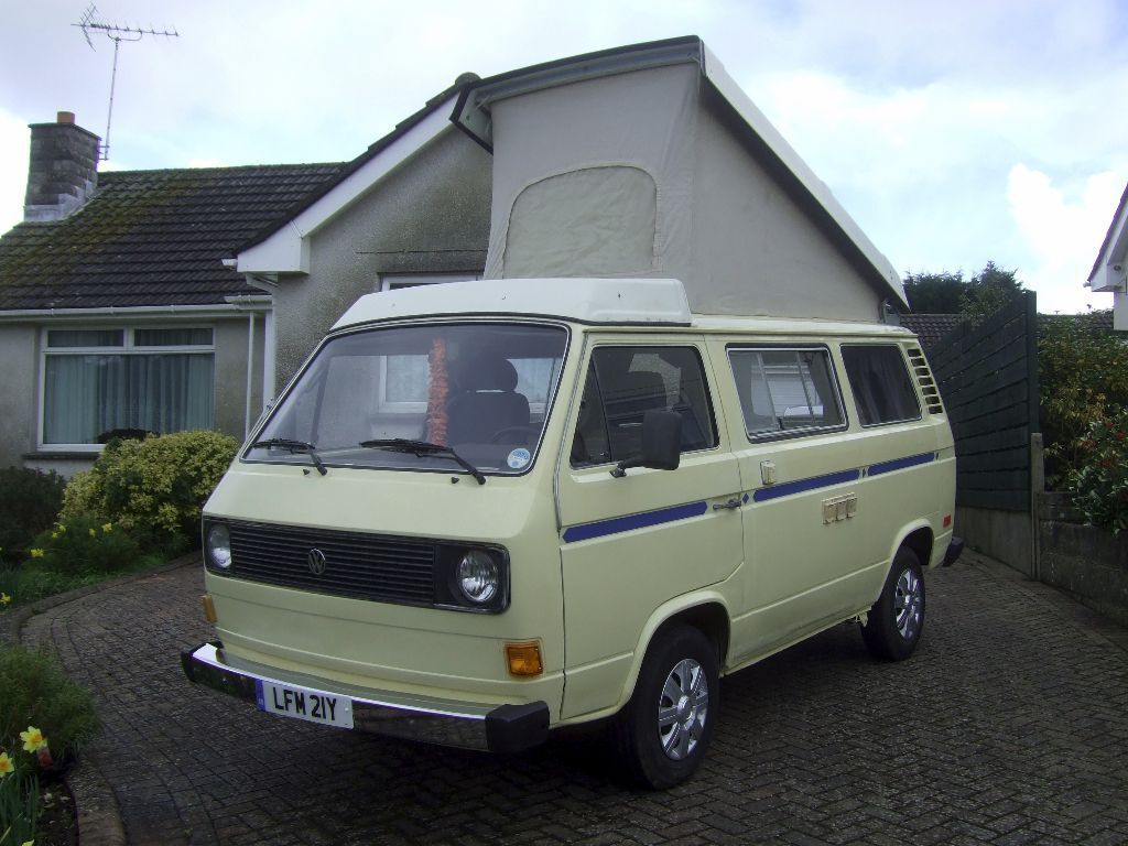 Vw Campervan Accessories >> WESTFALIA CAMPERVAN - VW T25 VANAGON - VOLKSWAGEN CAMPER VAN - 1980 AIR COOLED | in Corfe Mullen ...