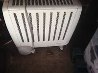 Modern eco electric fan heater