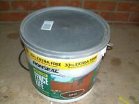 Ronseal One Coat Fence Life, 12ltr tub, Give The Fence A Treat, or Shed