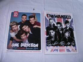 One Direction and the wanted annual