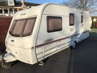 lunar clubman 530/4 4 Berth with motor mover and extras, 2002 lovely condition