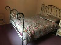 Double bed sleigh