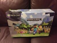Xbox 500GB Minecraft bundle (New Sealed) with free games