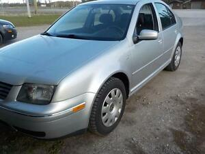 2007 VW CITY JETTA GAS 5SP. 162,000KM $5400