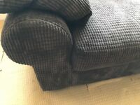 2 and 3 seater sofas + pufe