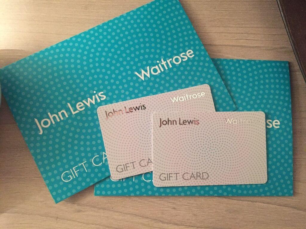 Wedding Gift John Lewis: £100 John Lewis & Waitrose Gift Card Vouchers