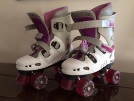 Girls roller skates size 4