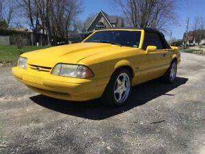 1993 Ford Mustang LX 5 VIT SUPERCHARGE 19999$ 514-692-0093