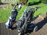 Full set Ram golf clubs with many extras