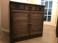 Brown Wooden Storage Cabinet for only £ 20.00