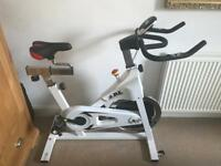 JLL IC300 Indoor Hit Spinning / Exercise Bike REDUCED