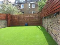 Paving, Fencing, Artificial grass, Driveway, Decking, Irrigation, Summer house