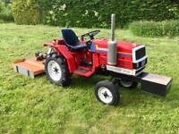 Yamnar F15 tractor new topper, transport box, chain arrows, nose weight
