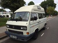VW T25 High Top, 1990 – White