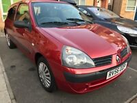 WEEKEND OFFER !!! RENAULT CLIO 1.2 ★ PETROL ★SERVICE HISTORY ★ LONG MOT ★LOW MILEAGE ★ PRICE REDUCED