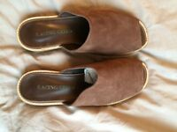 Women's Racing Green Brown Suede Shoes - Size 5 / 38