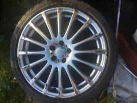 "18"" 5x100 alloys vw seat bora golf beetle Toledo leon"