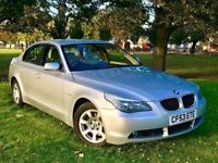 2004 (53) BMW 5 SERIES 530I SE *** AUTO *** NEW MOT ( NO ADVISORY)** FULL SERVICE HISTORY**