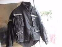 LADIES BIKER JACKET , GLOVES AND LEATHER TROUSERS £50 THE LOT !!