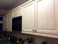Kitchen cabinets, sink, integrated stove for sale