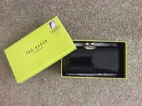 Black, leather Ted Baker Large Purse