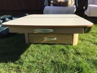 Chest of drawers for caravan or motorhome