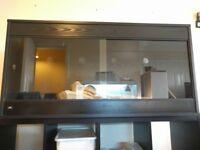 ND Aquatics 4x2x2 Black Viv, shelf & Large log