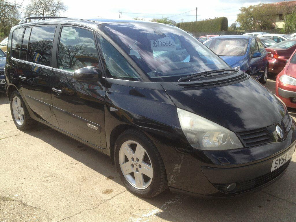 Swainsthorpe Motor Co 2004 Renault Espace 2 0 Turbo Black