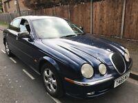 Jaguar S-Type V6 SE 2967cc Petrol Automatic 4 door Saloon T Reg 27/04/1999 Blue