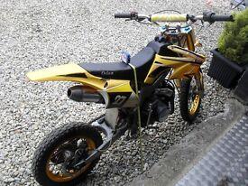 125cc MOTOCROSS DIRT BIKE