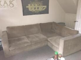 Corner sofa in near perfect condition
