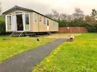 Cheap caravan for sale in Tenby on Kiln Park 2017 site fees included & decking available