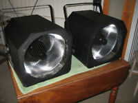 Pair of Acme UV 400 Ultra Violet Spot/Stage Lamps