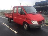 Mercedes sprinter 311 CDI tipper 2006 Crew cab low low miles only 36.000k
