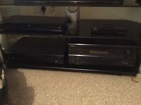 Home cinema system and TVs stand.